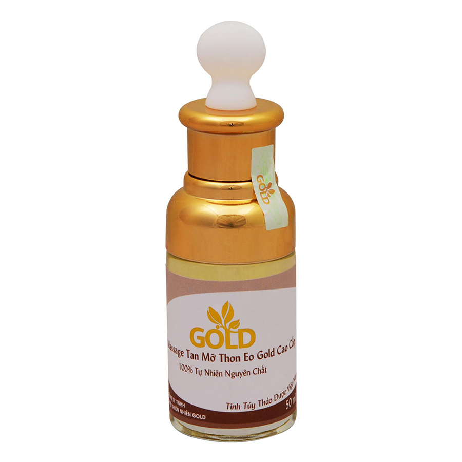 Dầu Massage Tan Mỡ Thon Eo Gold Cao Cấp (50ml)