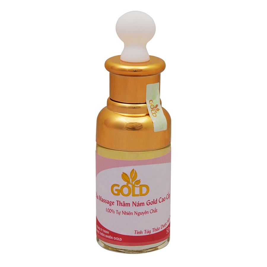 Dầu Massage Thâm Nám Thon Eo Gold Cao Cấp (50ml)