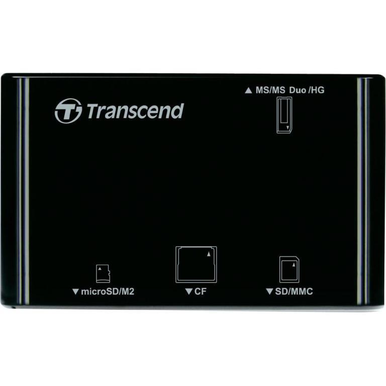 Đầu Đọc Thẻ Nhớ Transcend P8 - Trắng/Đen