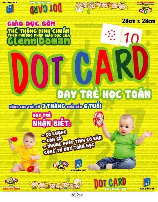 Dot Card Dạy Trẻ Học Toán