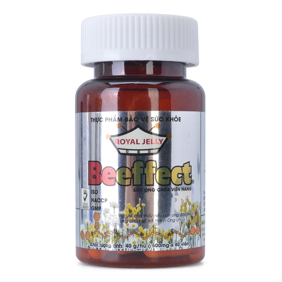 Thực Phẩm Chức Năng Sữa Ong Chúa Viên Nang Beeffect (80 viên x 500mg)