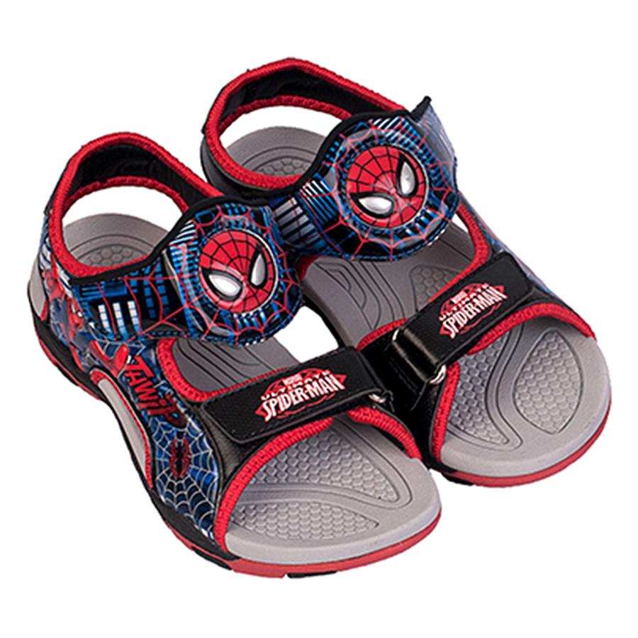 Giày Sandal Bé Trai Biti's Người Nhện DTB062711DOO - Đỏ