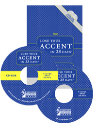 Lose Your Accent in 28 Days (CD-ROM+Audio CD+Workbook)