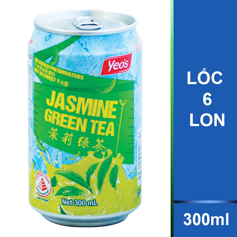 Trà Xanh Yeo's (6 Lon x 300ml)