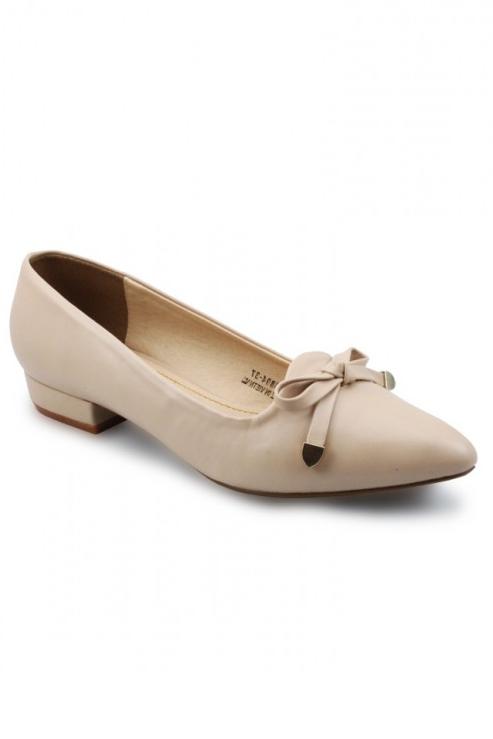 Giày Bít Nữ G Alanti GS14-133-40-K - Kem