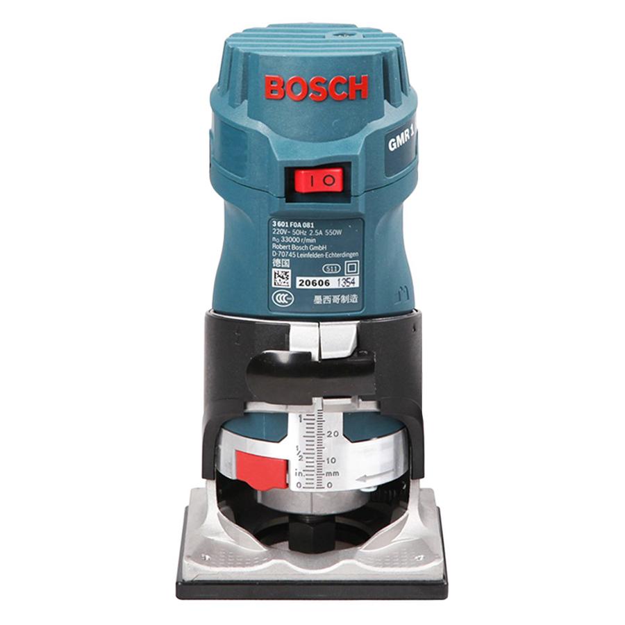 Máy Phay Bosch GMR1 (550W) - Xanh