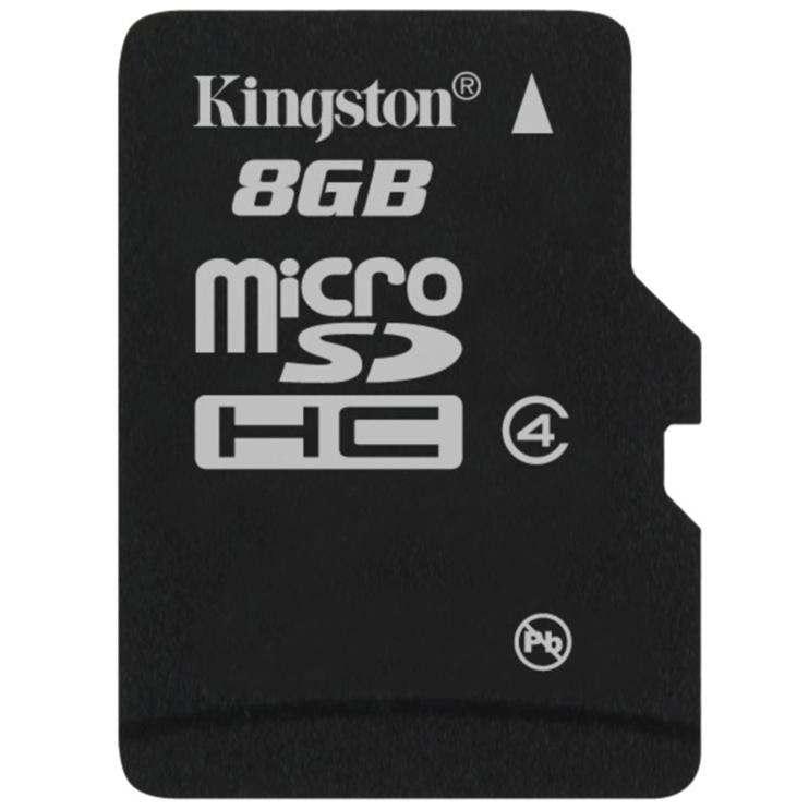 Thẻ Nhớ Kingston Micro SDHC 8GB Class 4 - SDC4/8GBSP
