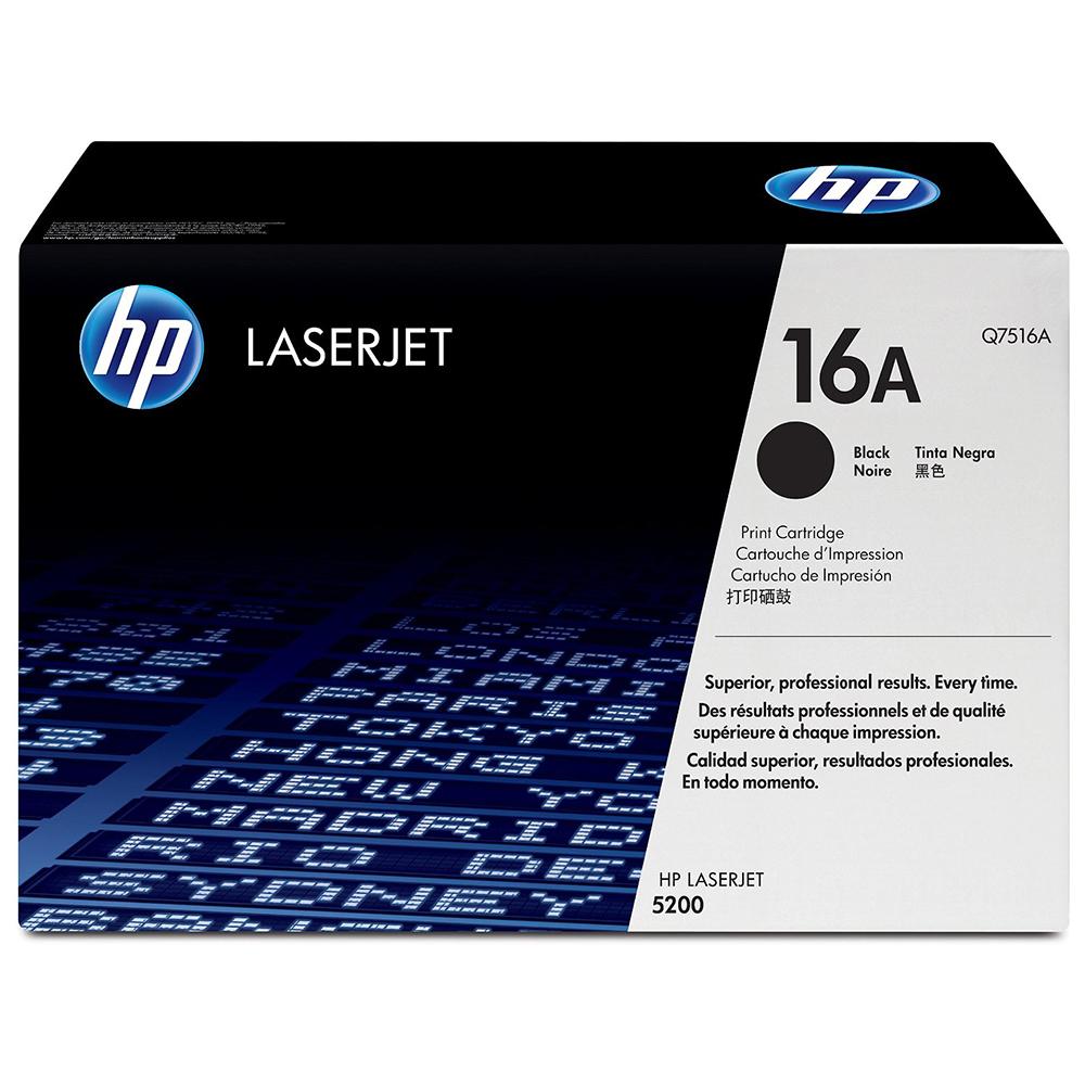 Mực In HP Q7516A (HP 16A) Cho Máy In HP 5200; HP 5200tn; HP 5200dtn - Hàng Chính Hãng