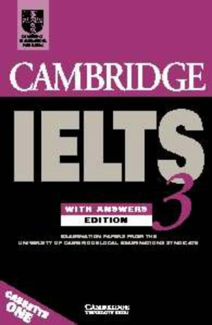 Cambridge IELTS 3 Audio Cassette Set (2 Cassettes): Examination Papers from the University of Cambridge Local Examinations Syndicate (IELTS...