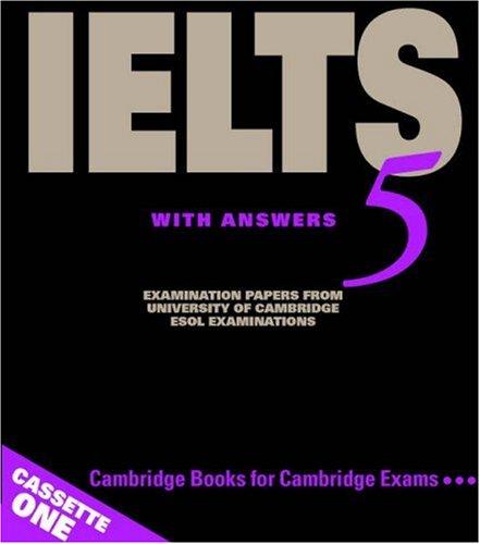 Cambridge IELTS 5 Audio Cassettes