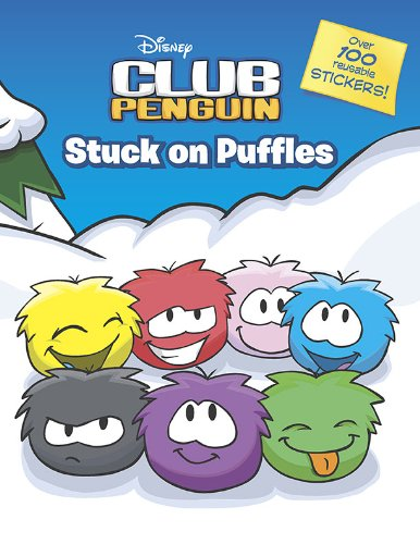 Stuck on Puffles: A Sticker Scrapbook (Disney Club Penguin)