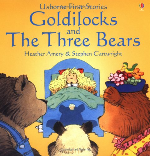 Usborne Goldilocks and the Three Bears