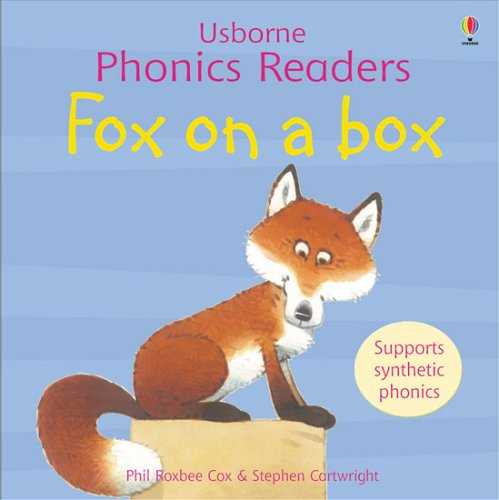 Usborne Fox on a box