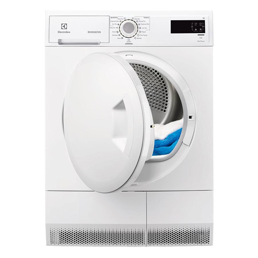 Máy Sấy Cửa Trước Electrolux EDC2086PDW (8kg) - Trắng