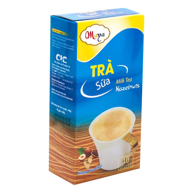 Trà Sữa Maya Hương Hazelnut Cocoa Indochine (Hộp 10 Sticks)