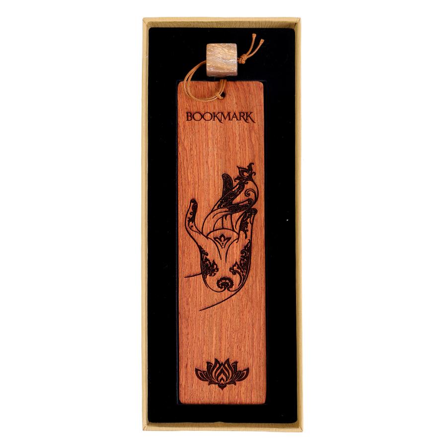 Bookmark Gỗ Bàn Tay Phật