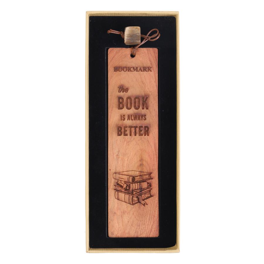 Bookmark Gỗ Sách Là Số Một