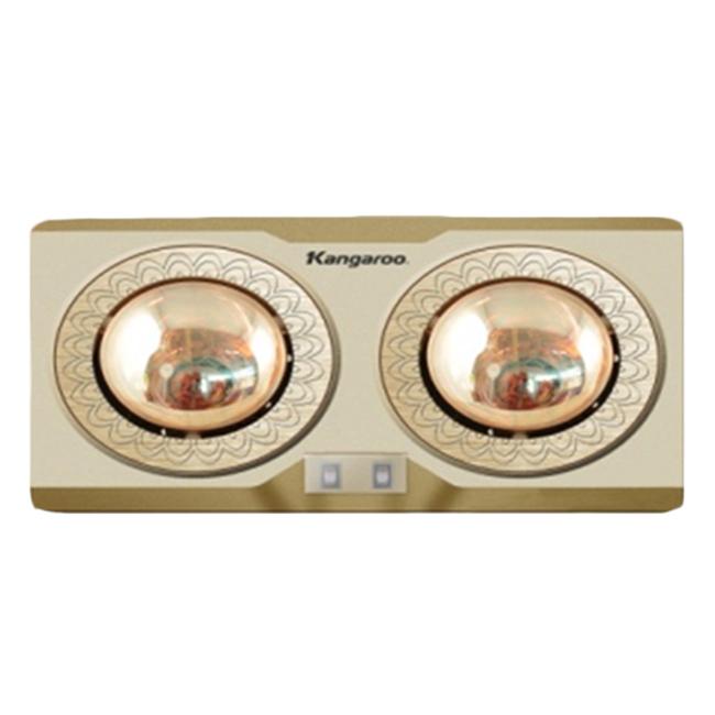 Đèn Sưởi Phòng Tắm Kangaroo KG247N (550W) - 2 Bóng