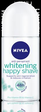 Lăn Khử Mùi Nữ Nivea Whitening Happy Shave 50ml - 83781