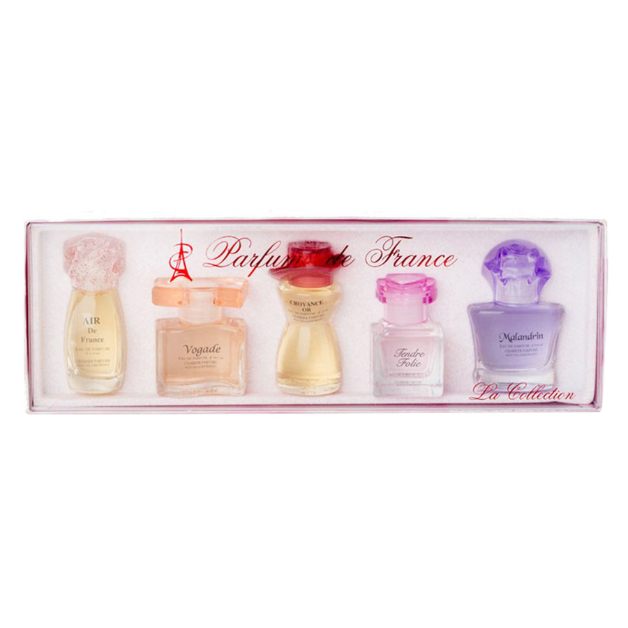 Bộ 5 Chai Nước Hoa La Collection Charrier Parfums LC5