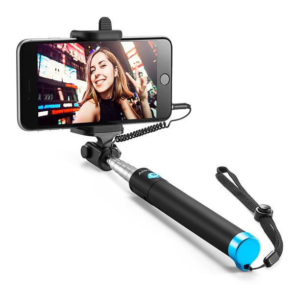 Gậy Selfie Chụp Hình Tự Sướng Anker - A71600J1 (Đen) - Hàng Chính Hãng