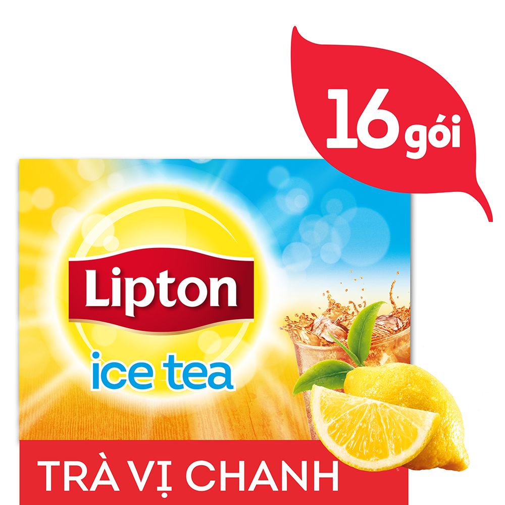 Trà Lipton Ice Tea Hương Chanh (14g x 16 gói) - 32006952