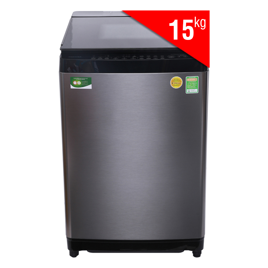 Máy Giặt Cửa Trên Inverter Toshiba AW-DG1600WV (15kg) - Xám Đen