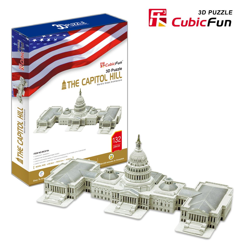 Mô Hình Giấy Cubic Fun: The Capitol Hill [MC074h]