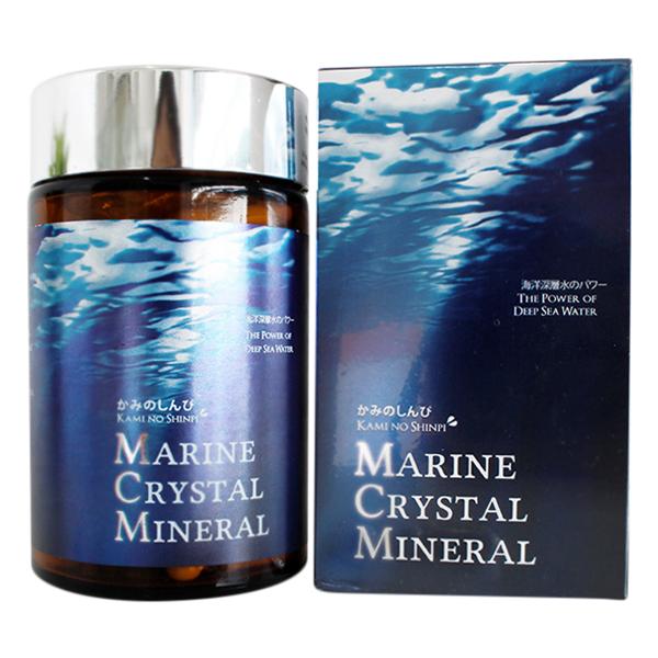Thực Phẩm Chức Năng Nhật Sinh Khoáng MCM - Marine Crystal Mineral Mirako (120 Viên)