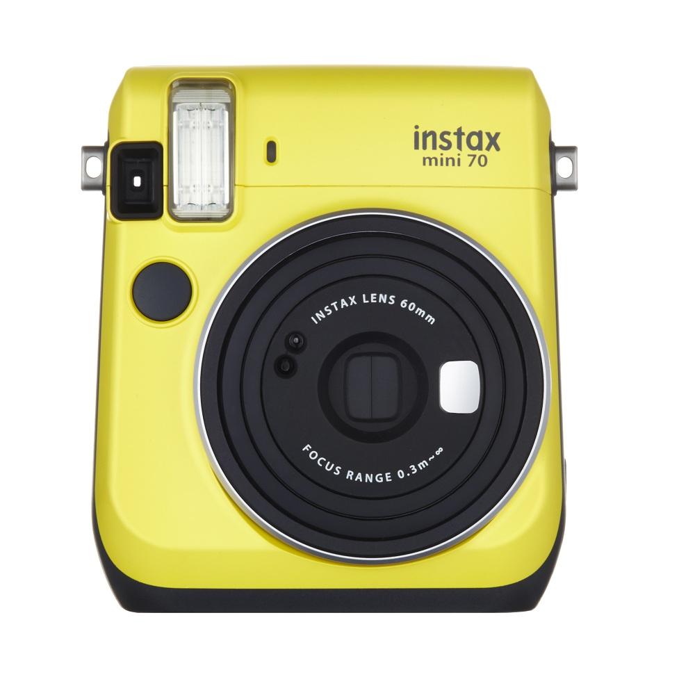 Máy Ảnh Selfie Lấy Liền Fujifilm Instax Mini 70  - Vàng