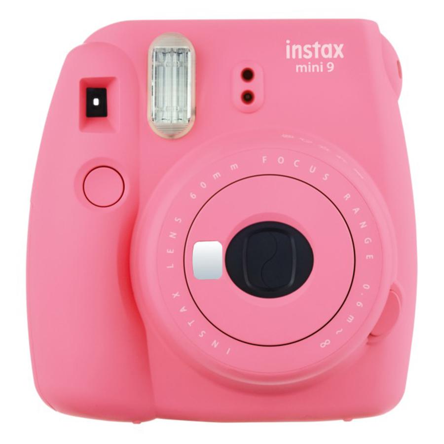 Máy Ảnh Selfie Lấy Liền Fujifilm Instax Mini 9 - Flamingo Pink