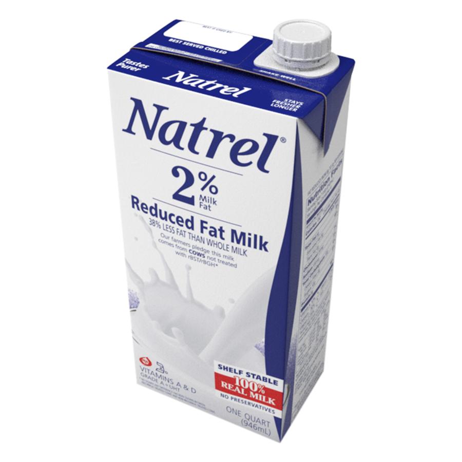 Sữa Tiệt Trùng Natrel 2% Béo Reduced Fat Milk (946ml)