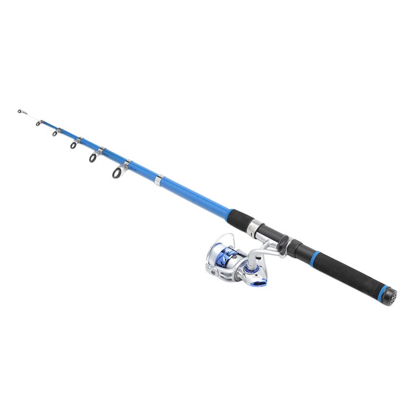 Bộ Cần Câu KHP Blue New (2.7m) + Dây (100m) + Máy 3000 - Giao Màu Ngẫu Nhiên