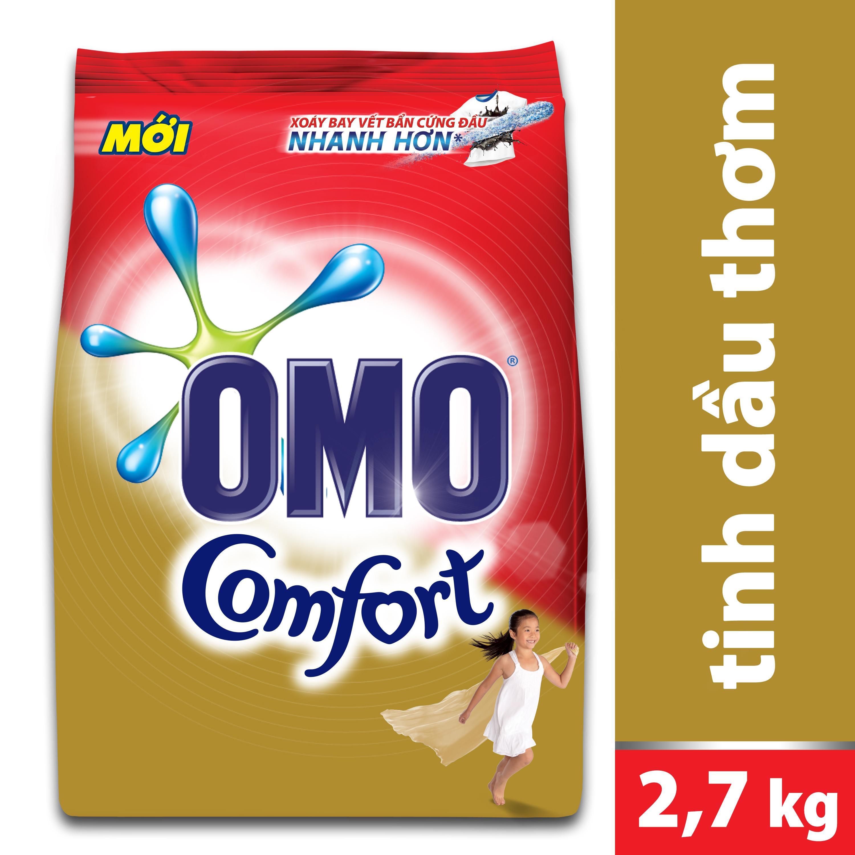 Bột Giặt OMO Comfort Tinh Dầu Thơm 32004710 (2.7kg)