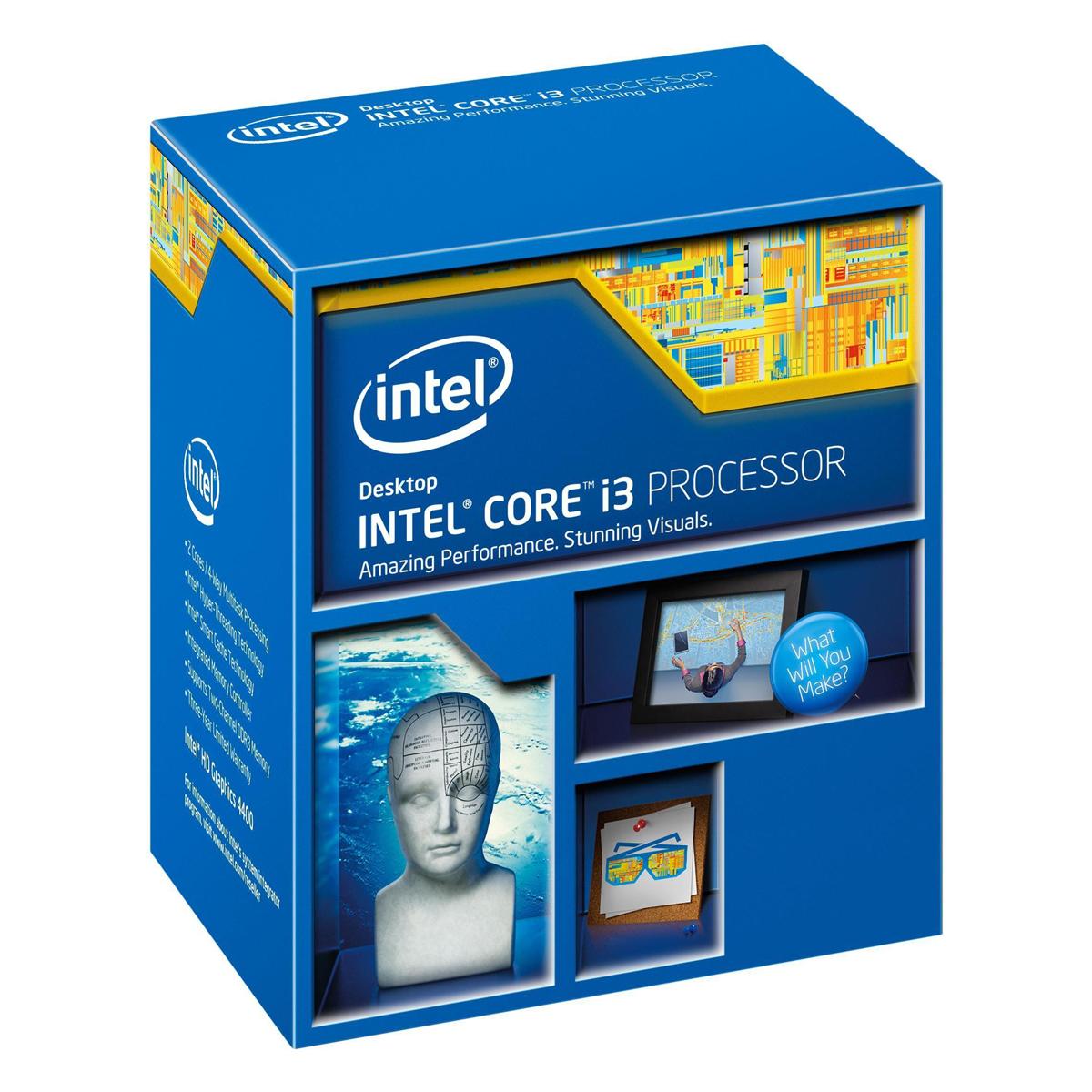 Bộ Vi Xử Lý Intel Core i3-4350 3.6GHz - Hàng Nhập Khẩu