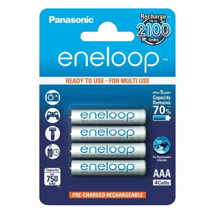 Pin AAA Panasonic Eneloop 4 Viên 750mAh