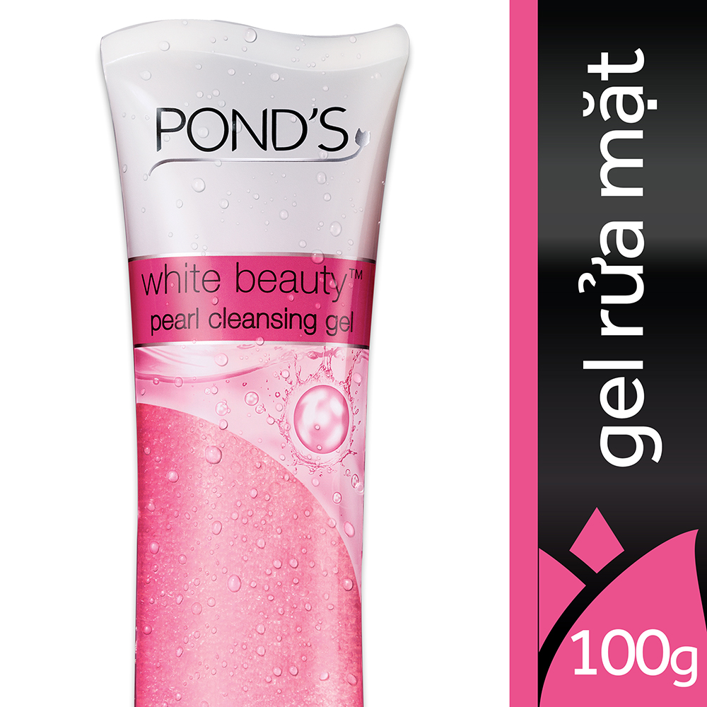 Gel Rửa Mặt Pond's White Beauty Pearl Cleansing Gel - 21166351 (100g)