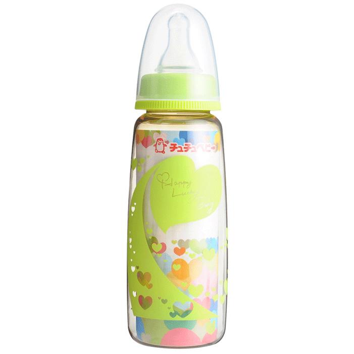 Bình Sữa PPSU ChuChu Baby 240ml - Xanh