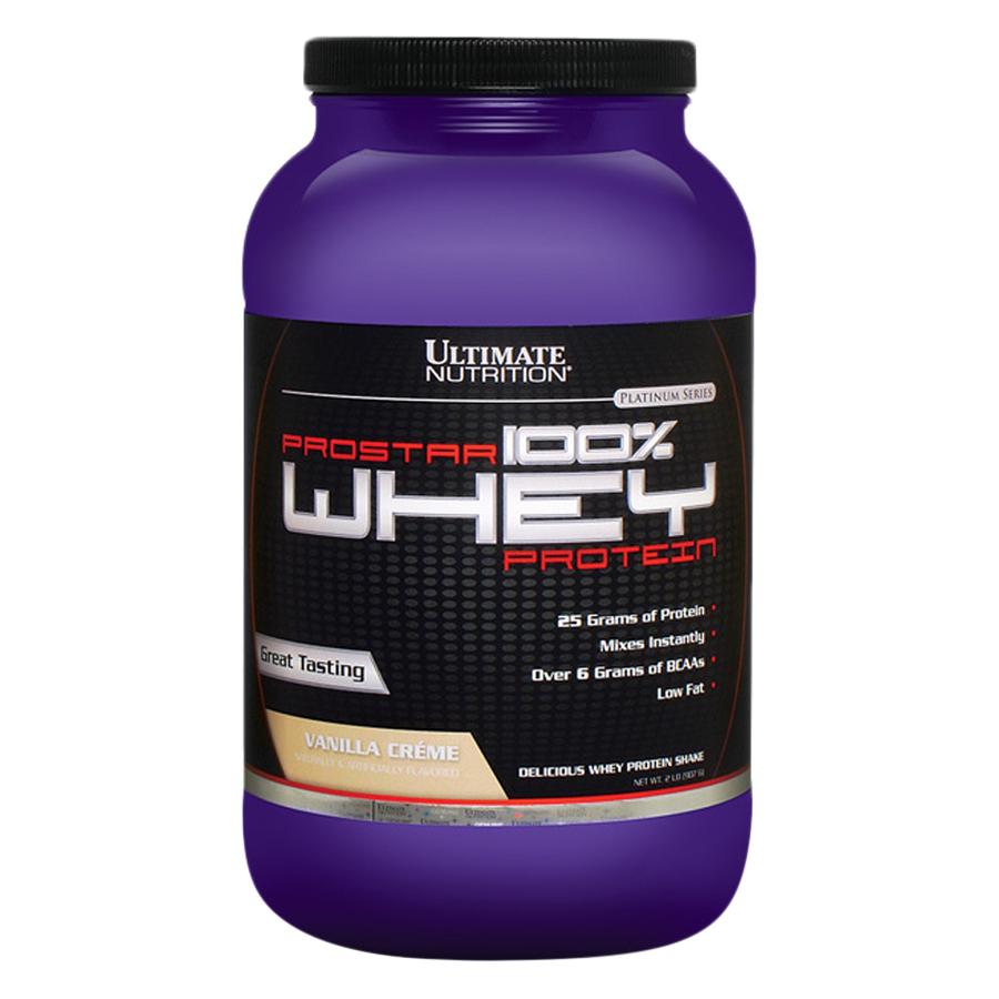 Sữa Tăng Cơ Vị Vani Prostar 100% Whey Protein Ultimate Nutrition SMUN145 (907g)
