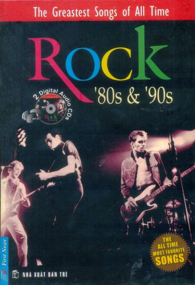 Hộp Nhạc Rock '80s  '90s (Sách +2CD)