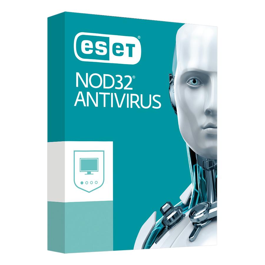 Phần Mềm Diệt Virut Eset NOD32 ANTIVIRUS9 1U1Y Bản Quyền 1 Máy/ Năm