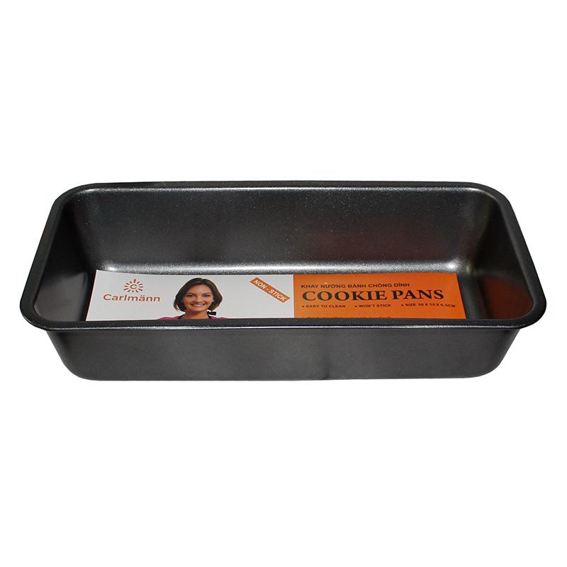 Khuôn Nướng Bánh Chống Dính Carlmann SL-L001 (32 x 13.5 x 7 cm)