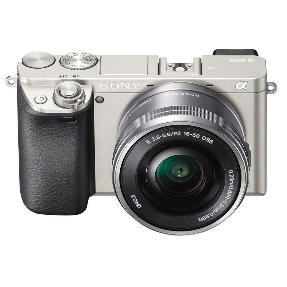 Máy Ảnh Sony Alpha A6000 + 16-50mm - Bạc