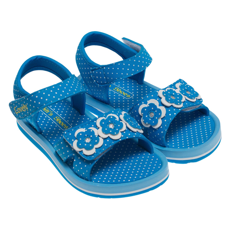 Giày Sandal Bé Gái Biti's SXG020200XDG - Xanh Dương