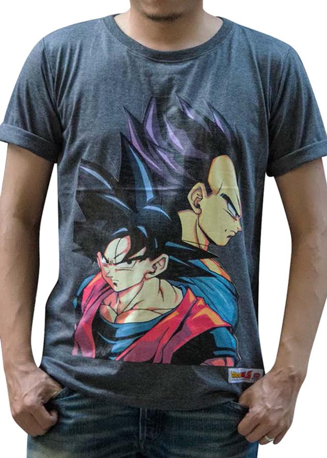 Áo Phông Dragon Ball Z - Xám