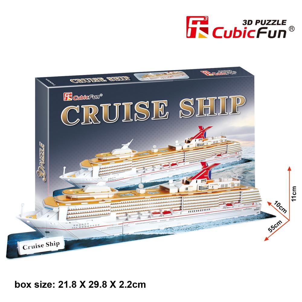 Mô Hình Giấy Cubic Fun: Cruise Ship [T4006h]