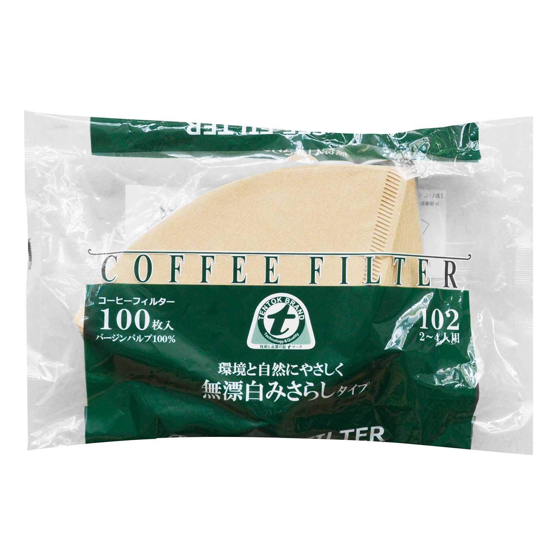 Giấy Lọc Cà Phê Tentok Paper Coffee Paper Filter Brown - Màu Nâu 128g