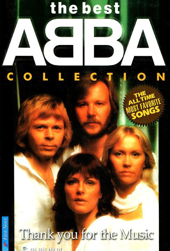 The Best ABBA CD (Sách + 4CD)