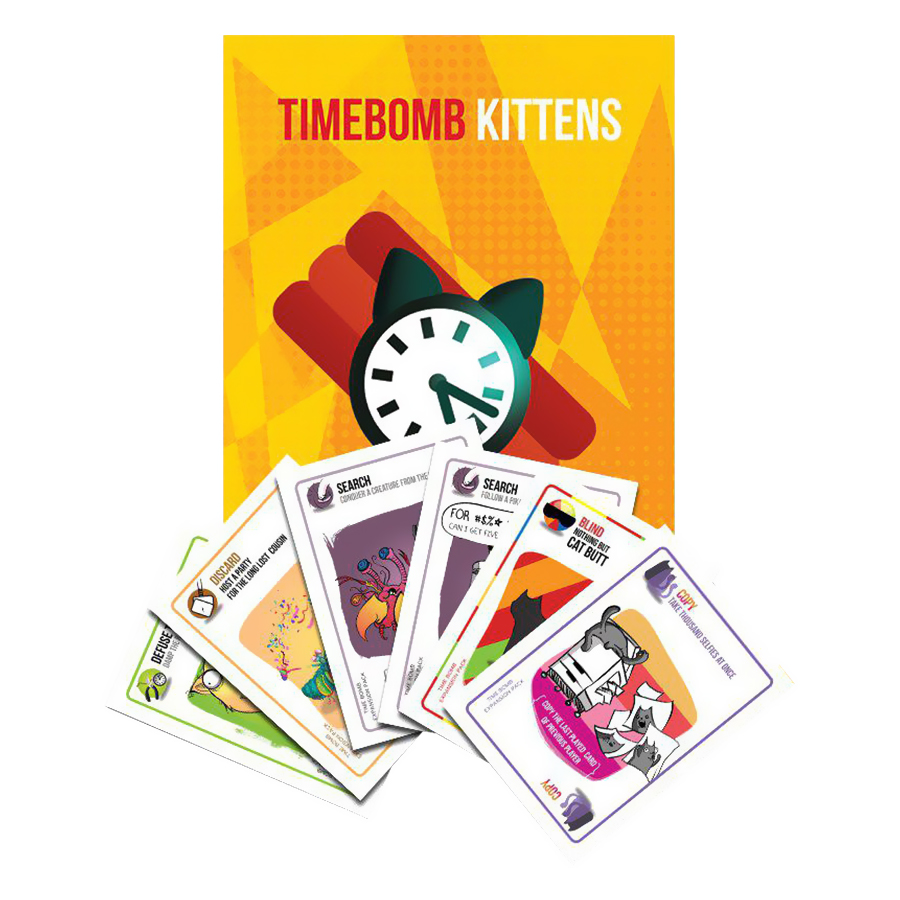 Mèo Mở Rộng 4 - Timebome Expansion BoardgameVN