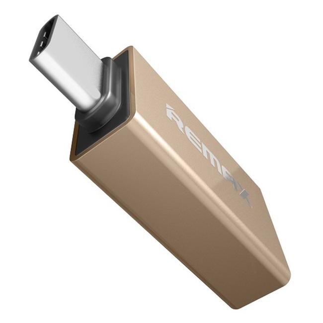 Đầu Chuyển Đổi USB OTG Remax - 2 Cổng USB Type-C Và USB 3.0 - Hàng Nhập Khẩu